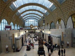 Tre giorni a Parigi con la pioggia. Il Musée d'Orsay