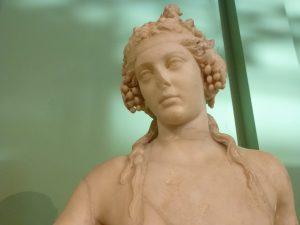 Statua di Dioniso (dettaglio)