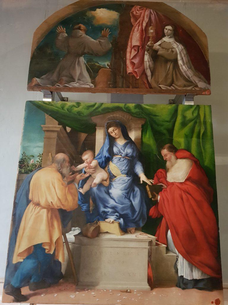 Lorenzo Lotto, Madonna delle rose