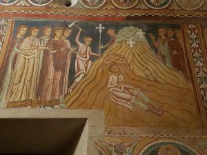 Oratorio di san Silvestro. La regina Elena trova la Vera Croce di Cristo