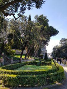 Villa d'Este. Scorcio del giardino