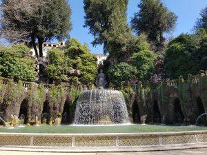 Villa d'Este. La fontana dell'Ovato