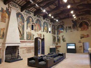 Gentile da Fabriano, Palazzo Trinci a Foligno, Sala dei giganti