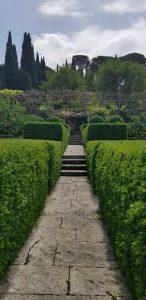 Il primo giardino fra le siepi di bosso