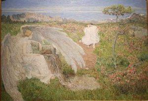 Giovanni Segantini, L'amore alla fonte della vita