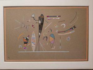 Wassily Kandinsky, Sans titre, Collezione Casamonti