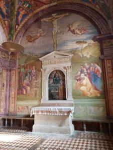 Cappella dell'Assunta nella Cattedrale di Santa Maria Assunta - parete dell'altare