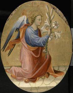 Gherardo Starnina, L'ange de l'annonciacion @ Musée du Petit Palais, Avignon