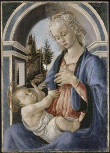 Sandro Botticelli, La Vierge et l'Enfant @ Musée du Petit Palais, Avignon