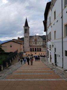 Via dell'Arringo verso la Cattedrale di Santa Maria Assunta