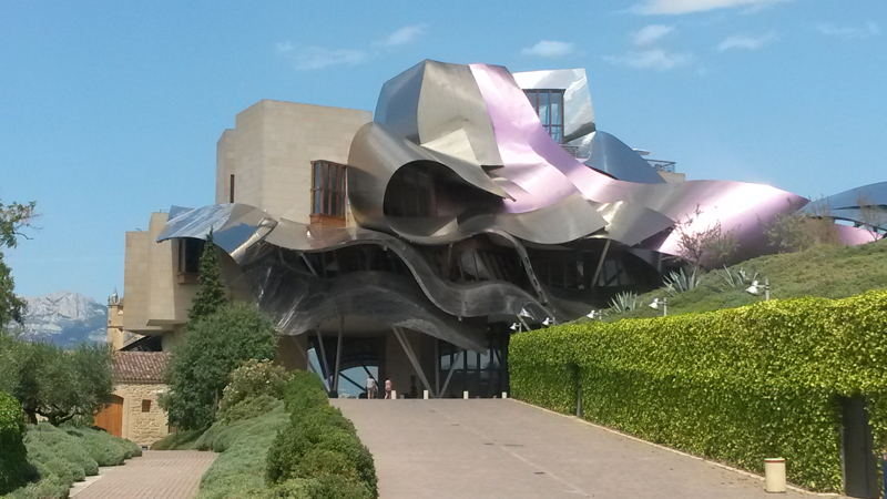 Marques de Riscal, Frank O. Gehry