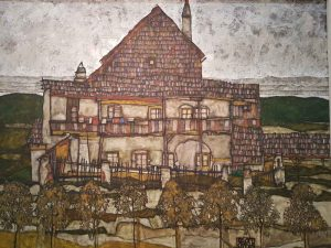Egon Schiele, Old house II