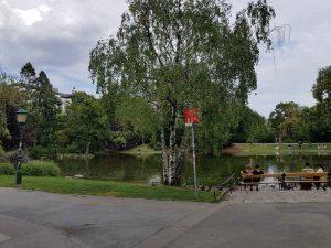 Stadtpark, laghetto