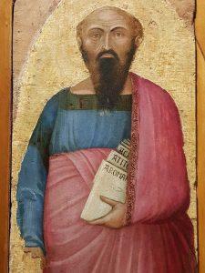 Polittico di Castelvecchio, dettaglio di san Paolo