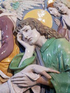 Giovanni della Robbia, Pietà – dettaglio di San Giovanni