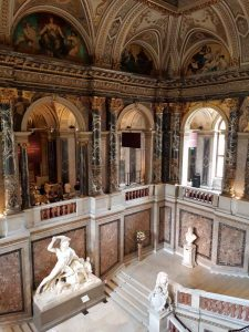 Kunsthistorisches Museum, scalone monumentale
