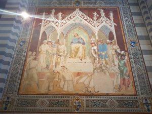 Ambrogio Lorenzetti, Martirio di frati francescani
