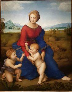 Raffaello, Madonna del belvedere