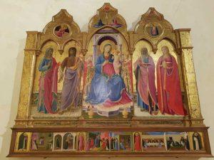 Beato Angelico, Trittico, Museo diocesano di Cortona