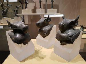 Collezione etrusca del Maec di Cortona - dettaglio