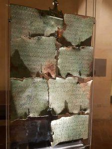 Tabula Cortonensis, Maec di Cortona