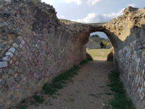 Anfiteatro di Roselle, ingresso