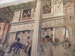 Affreschi del Mantegna nella chiesa degli Eremitani