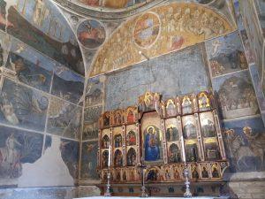 Affreschi e polittico dell'altare