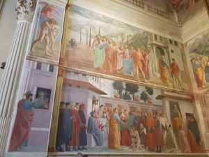 Cappella Brancacci, parete sinistra