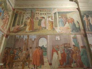 Cappella Brancacci, parete destra
