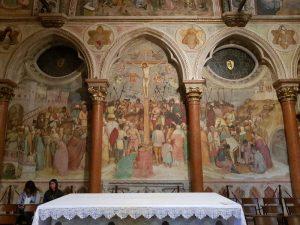 Cappella di San Giacomo nella Basilica di Sant'Antonio, Crocifissione di Altichiero da Zevio