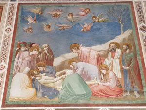 Giotto, Cristo deposto, Cappella degli Scrovegni