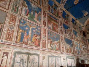 Giotto, parete sinistra della Cappella degli Scrovegni