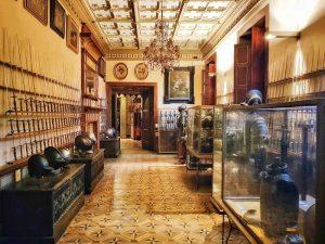 Museo Stibbert, Sala del biliardo