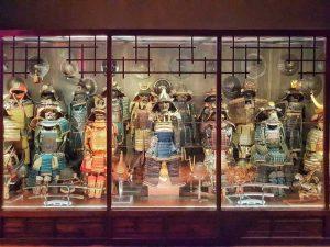 Museo Stibbert, Seconda sala giapponese - dettaglio