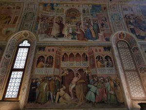 Oratorio di San Giorgio - parete sinistra