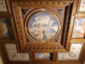 Camera di Abramo, Casa Museo Vasari di Arezzo - soffitto