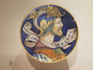 Coupe, portrait de profil, Cornelio, 1520-1525