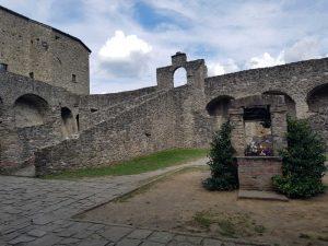 Corte del Castello del Piagnaro di Pontremoli