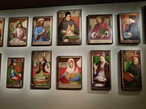Giusto di Gand e Pedro Berruguete, Pannelli della Collezione Campana al Louvre