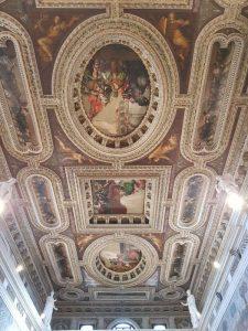 San Sebastiano, Pietro Veronese, Soffitto con le storie della regina Ester