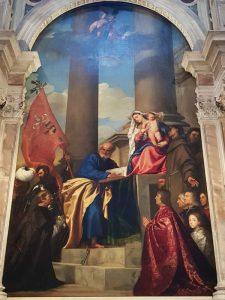 Chiesa di Santa Maria Gloriosa dei Frari, Madonna di Ca' Pesaro di Tiziano