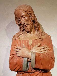 Carcere, Cristo - dettaglio