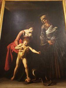 Caravaggio, Madonna dei palafrenieri, Galleria Borghese
