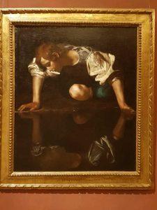 Caravaggio, Narciso, Galleria Barberini