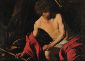 Caravaggio, San Giovanni Battista, Galleria Corsini