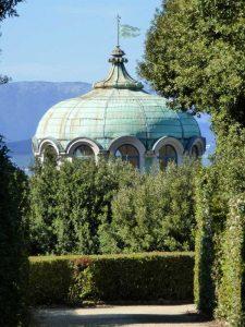 Tetto della Kaffeehaus, Giardino di Boboli
