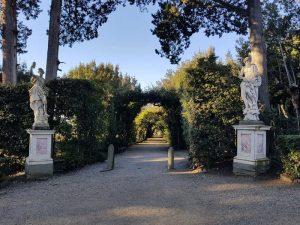 Primo viale trasversale del Viottolone dei cipressi, Giardino di Boboli