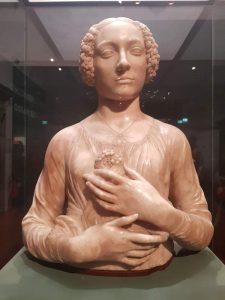 Andrea del Verrocchio, Dama dal mazzolino