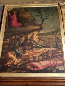 La Scuola Dalmata di Venezia, Vittore Carpaccio, Preghiera nell'orto degli ulivi